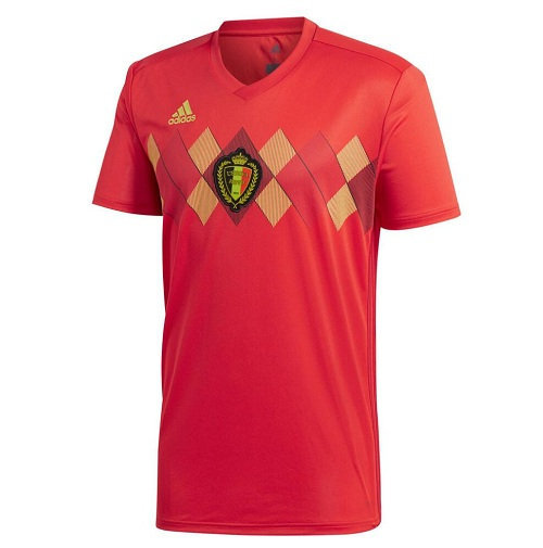 Maillot Belgium Worldcup Domicile 2018 2019