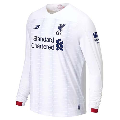Maillot Liverpool Ml Seconda 2019 2020