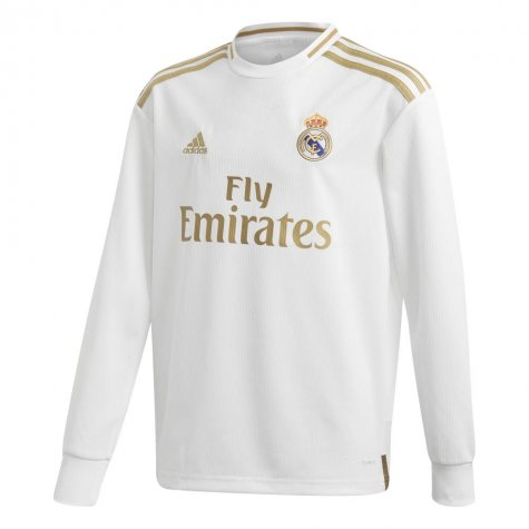 Maillot Real Madrid Ml Domicile 2019 2020