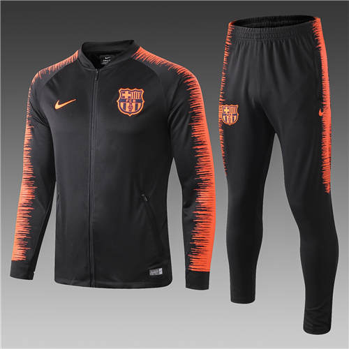Vestes Barcelone Noir Orange 2019