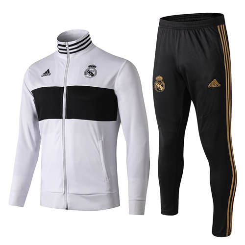 Vestes Real Madrid Blanc Noir 2019