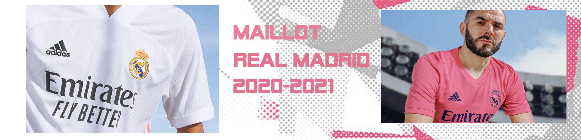 Maillot real madrid 2020/21
